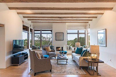 Living Room with Gorgeous Western Views