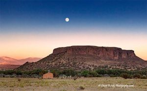 Black Mesa full moon