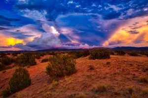 Clouds over Santa Fe Baldy