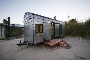 Extraordinary Structures prototype Tiny House, Santa Fe, New Mexico, Zane Fisher