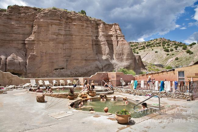Ojo Caliente New Mexico Map.Ojo Caliente Mineral Springs Resort Spa Sharing Santa Fe