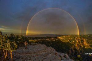 Rainbow from Sandias