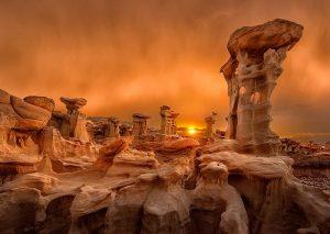 Statues of the Midnight Sun
