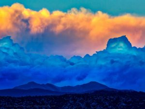 Storm Layers over the Truchas Peaks