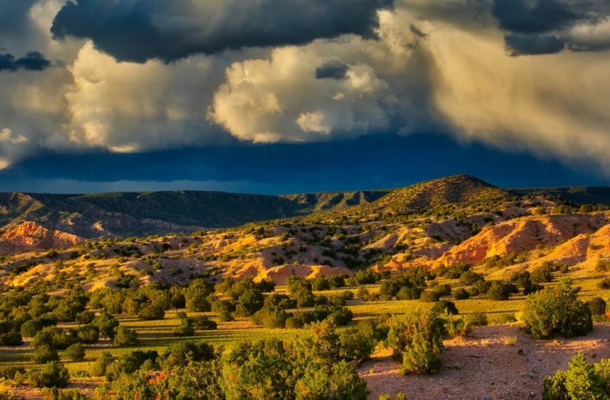 PHOTO: Clearing Storm at Sunset by Ed MacKerrow