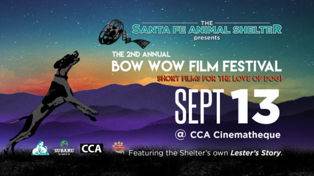 courtesy image This digital poster is promoting the return of the Bow Wow Film Festival to Santa Fe Sept. 13. mmurphy@abqjournal.com Thu Aug 30 13:48:05 -0600 2018 1535658485 FILENAME: 1268426.jpeg