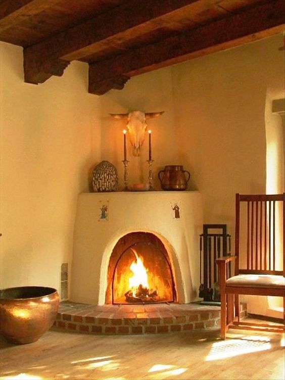 How To Stack Wood In A Kiva Sharing Santa Fe Adrienne Deguere